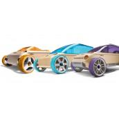 Набор автомобилей-конструкторов Mini 3 pack Кабриолет, Минивэн и Внедорожник
