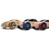 Набор автомобилей-конструкторов Mini C9-R/S9-R/C9-S 3-pack