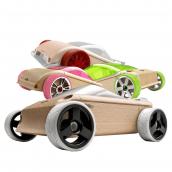 Набор автомобилей-конструкторов Mini 4 pack Кабриолет, Минивэн и Спорткары